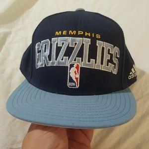 Adidas Snap Back Memphis Grizzlies Draft Cap